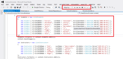 Barra de Ferramentas Code Alignment no Visual Studio